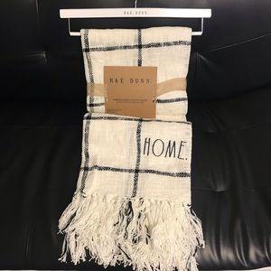 Rae Dunn Home Throw Blanket